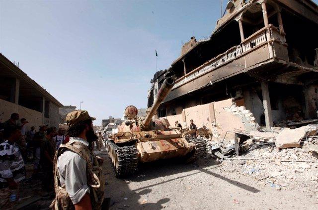 Asedio en Sirte contra Estado Islámico