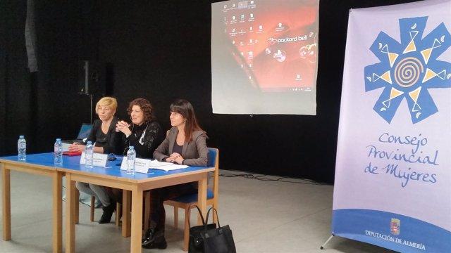 Alboloduy, primera parada fuera de Almería del Consejo Provincial de Mujeres.