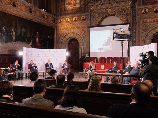 Los siete candidatos que aspiran a rector de la Universitat de Barcelona (UB)