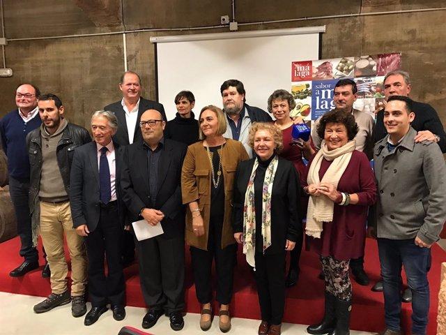 Premiados del Concurso de Vino Sabor a Málaga