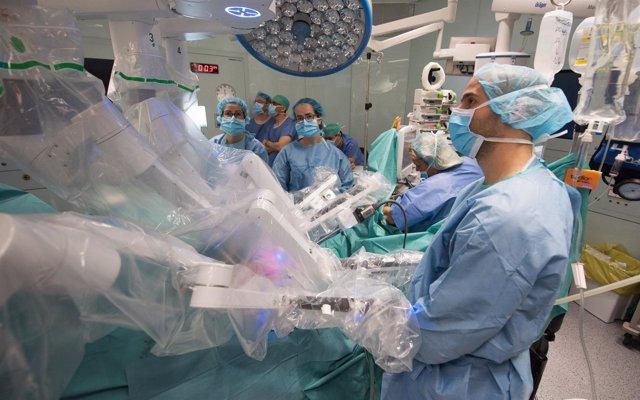 Trasplante de riñón en el Hospital Clínic