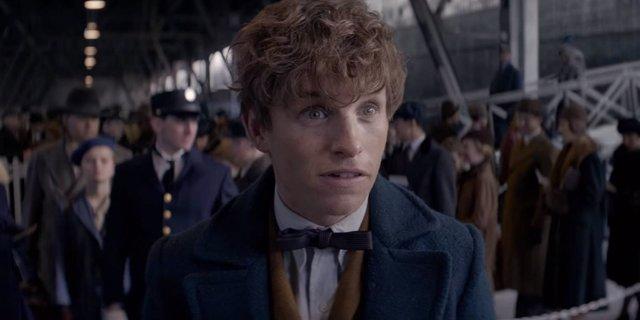 Eddie Redmayne como Newt Scamander