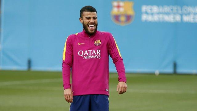 El jugador del FC Barcelona Rafinha