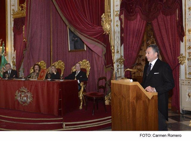 Recibimiento como Académico de Honor a José Joly Martínez de Salazar