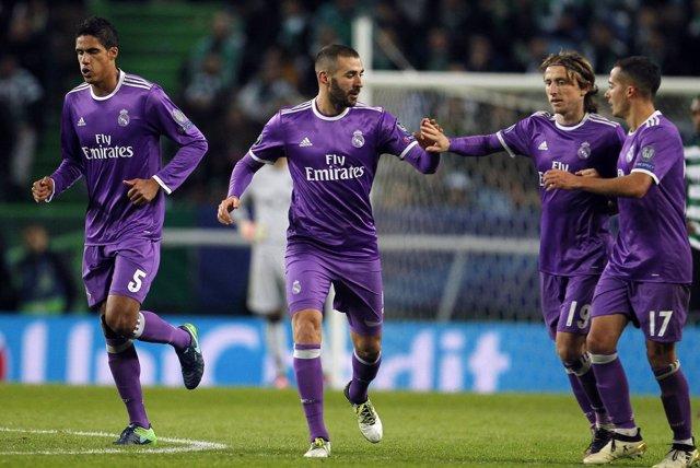 El Real Madrid vence en Lisboa