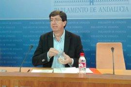 """C's: Susana Díaz debe """"priorizar"""" Andalucía si compatibiliza Junta y liderazgo del PSOE"""