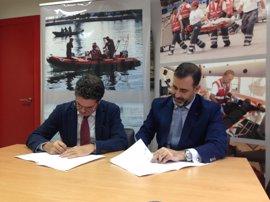 Un convenio entre Cruz Roja y SGS Española de Control permitirá la formación especializada de voluntarios de Cruz Roja