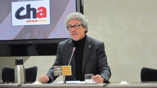El diputado Gregorio Briz (CHA)