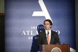"""Aznar lamenta que Barberá haya muerto """"habiendo sido excluida del partido al que dedicó su vida"""""""