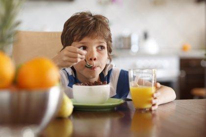 """Sólo un 3% de los niños en España realizan un """"desayuno de calidad"""""""