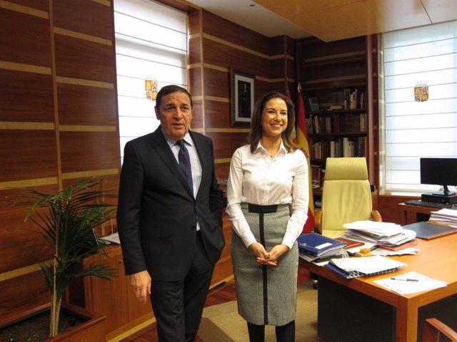 Antonio María Sáez Aguado y Raquel Martínez
