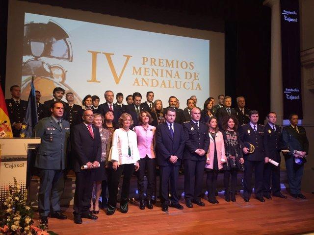 Entregados los Premios Menina Andalucía
