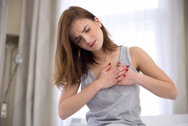 Síntomas de un infarto