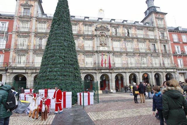 Navidad, fiestas navideñas, Plaza Mayor