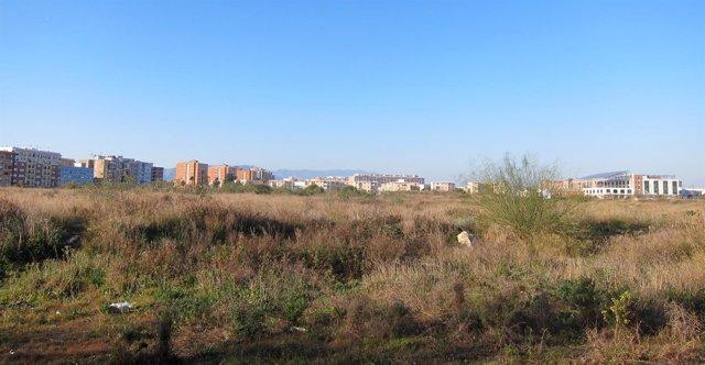Antiguos terrenos de Repsol parque