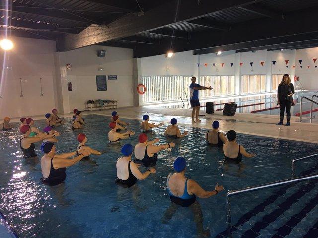 Inaugurada la piscina cubierta de constantina sevilla - Piscinas cubiertas sevilla ...