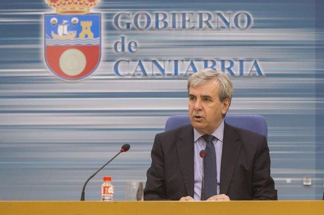 Rafael de la Sierra, consejero de Presidencia y Justicia del Gobierno cántabro