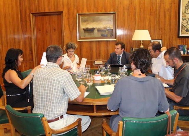 Isabel García Tejerina se reúne con las 5 ONG ambientales