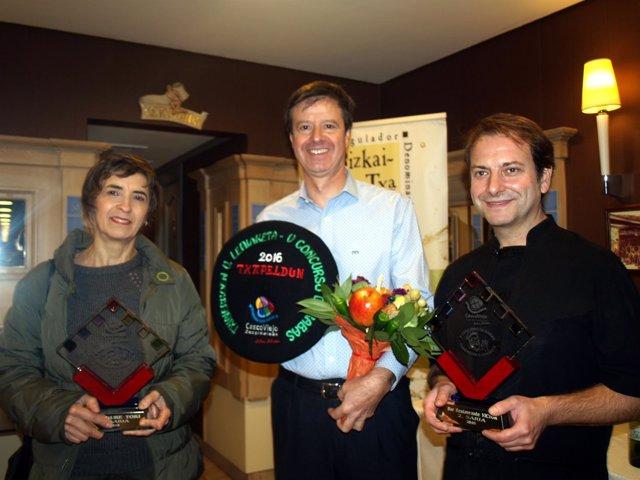 Ganadores del concurso de rabas