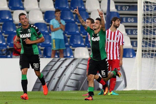 El Athletic Club pierde ante el Sassuolo en Europa League