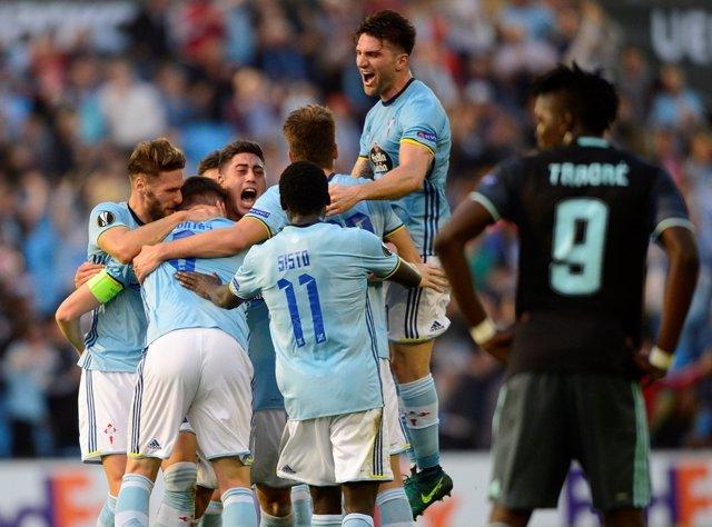 El Celta logra empatar con el Ajax en Europa League