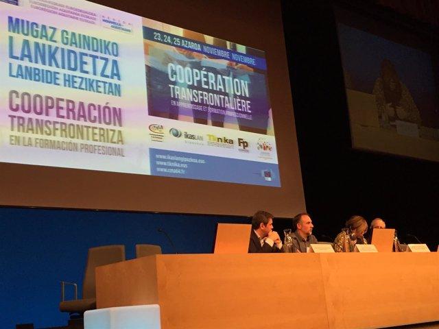 Jornadas Cooperación Transfronteriza en la Formación Profesional