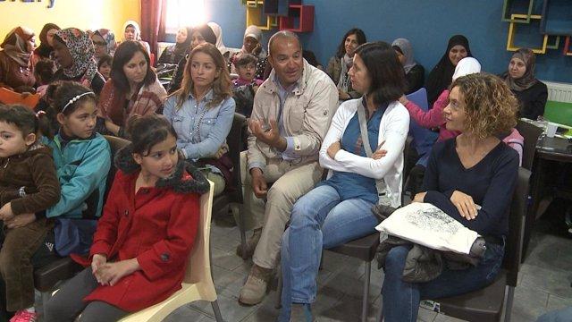 Diputadas españolas visitan Zarqa (Jordania)