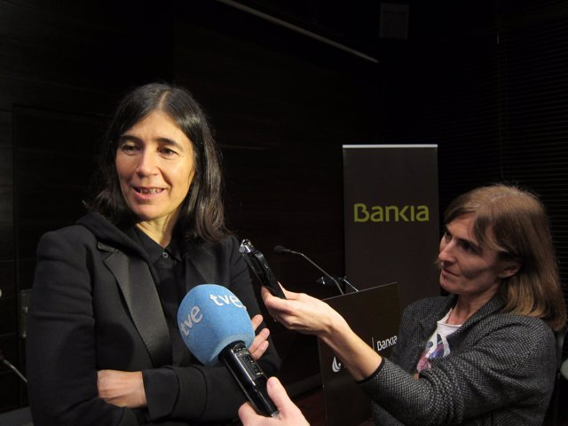 María Blasco, en Logroño