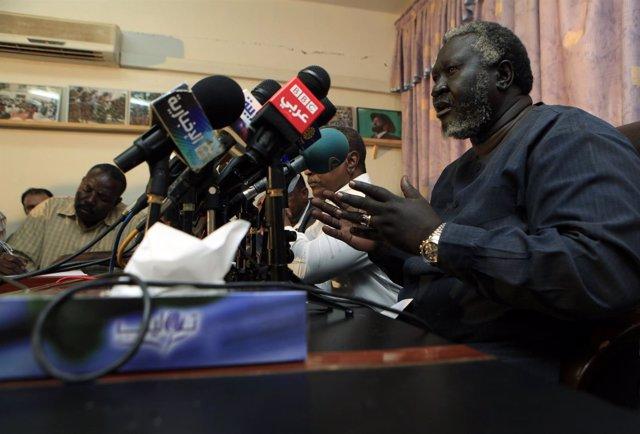 El líder del Movimiento de Liberación del Pueblo de Sudán (SPLM-N).