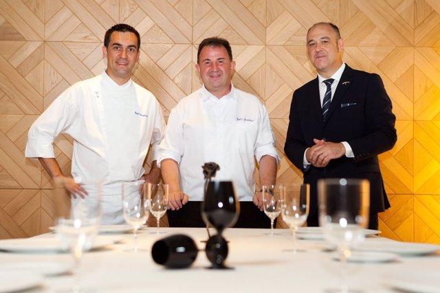 El restaurante Lasarte de Barcelona obtiene su tercera estrella Michelin