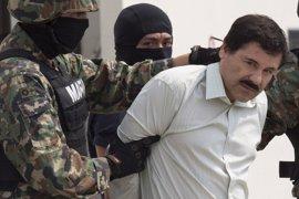 Admiten a trámite el recurso de revisión de la extradición a EEUU de 'El Chapo' Guzmán