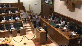 La Cámara vasca reanuda el pleno que designará lehendakari a Iñigo Urkullu