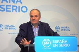 Javier Fernández, portavoz del PP en la Comisión Mixta para las Relaciones con el Tribunal de Cuentas