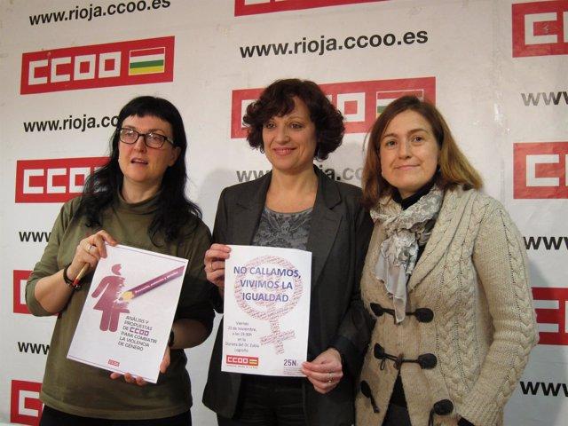 Comiones Obreras analiza violencia contra las mujeres