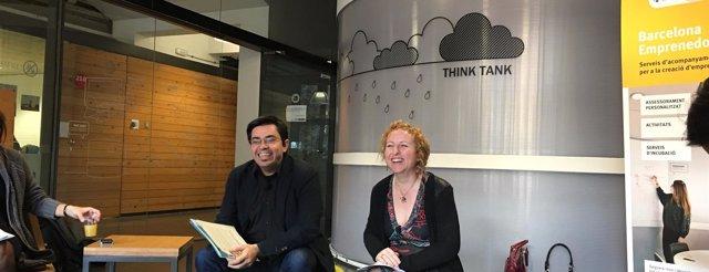 Gerardo Pisarello y Sara Berbel