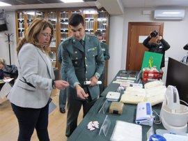 La Guardia Civil desarticula un entramado que traficaba con drogas en Navarra y alrededores