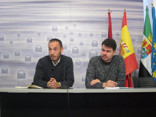 Pedro Blas Vadillo y Rubén Morán presentan la Farinato 2017 de Mérida