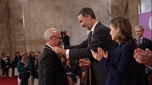 """Entrega de la 28ª edición de los """"Premios Rey Jaime I"""