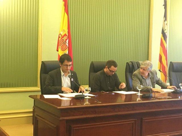 Comparecencia del conseller de Trabajo, Comercio e Industria, Iago Negueruela