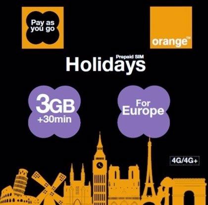 Orange lanza una tarifa para turistas internacionales que visiten España y otros países de Europa