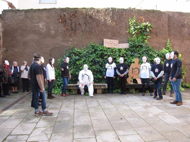 Flashmob de Cáritas por el Día de las Personas sin hogar