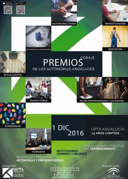 Premios 'Coraje de l@s autónom@s andaluces'.