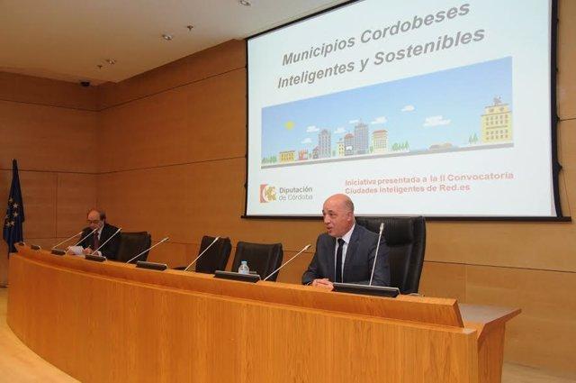 El presidente de la Diputación de Córdoba, Antonio Ruiz