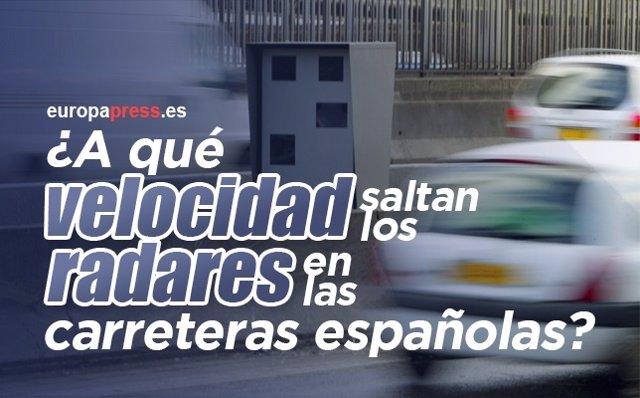 Velocidad de los radares en España