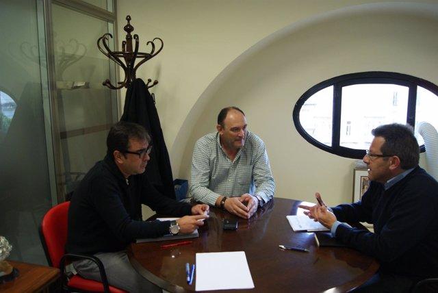 Reunión del PP con Lipasam