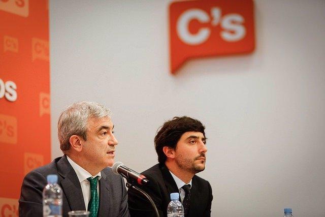 Luis Garicano y Toni Roldán