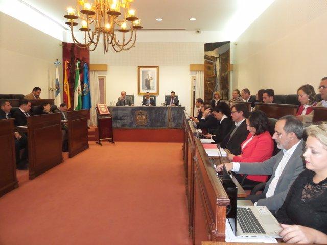 Pleno extraordinario Diputación