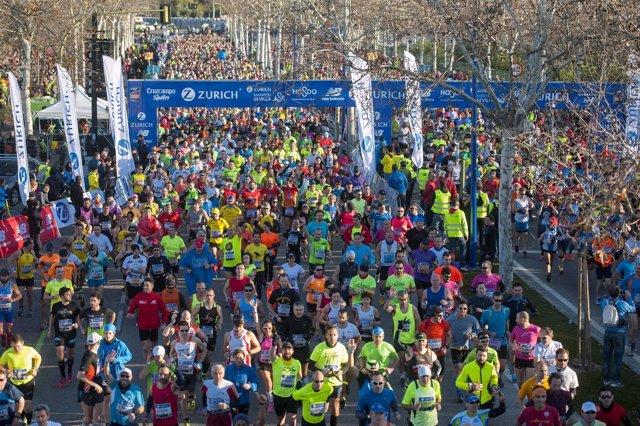 Maraton de Sevilla 2015
