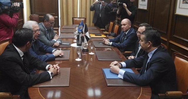 Reunión presidentes de Ceuta y Melilla