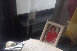 El PP abre un libro de condolencias por la muerte de Rita Barberá en su sede nacional